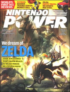 Nintendo Power Zelda cover